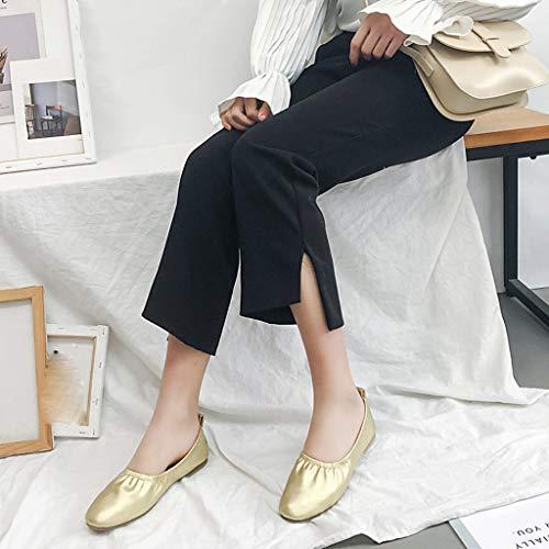 Deportes Danza Ballet Forma Gold Libre Yoga Zapatos Para Aire Mujer Interiores Con Zapatillas De P1wqCRI