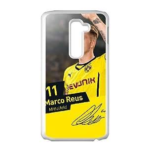 LG G2 Phone Case White Marco Reus QY7991165