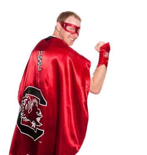 [NCAA South Carolina Gamecocks Superhero Costume] (Usc Fan Costume)