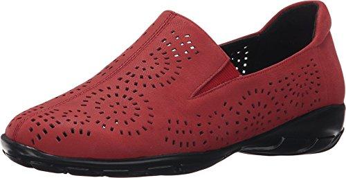 Vaneli Women's Alisha Red Nubia Sneaker 7.5 W (C)