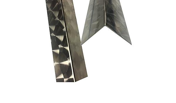 Ángulo de acero inoxidable 250 cm X5 X 5 cm (2500 mm X 50 X ...