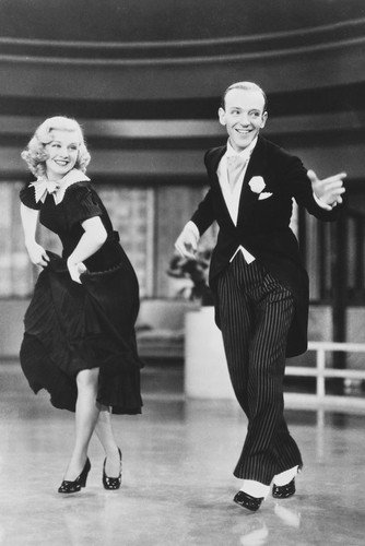 Fred Astaire & Ginger Rogers Swing Time 24x36 Poster