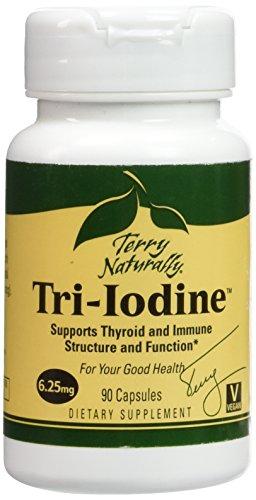 Tri yodo 6,25 mg EuroPharma (Terry naturalmente) 90 Caps
