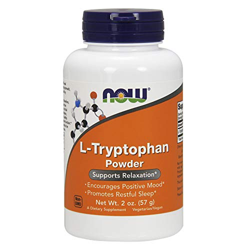Now L-Tryptophan Powder, 2-Ounce