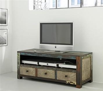 Wolf Möbel Goa Longboard Tv Bank Akazie Multicolor Amazon De