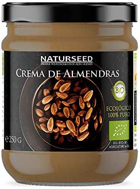 Crema de Almendras Integral 100% Natural Bio - Tostadas - Sin ...