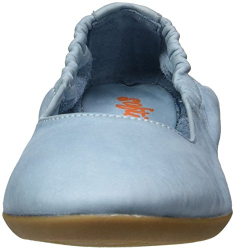 Softinos Damen Ona380sof Geschlossene Ballerinas Blau (Pastel Blue)
