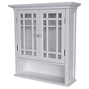 Elegant Home Fashions Neal Two-Door Wall Cabinet