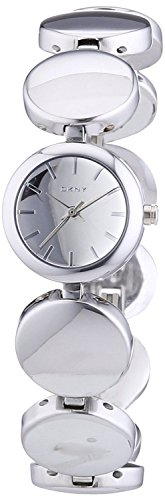 DKNY Gansevoort Silver Dial Stainless Steel Ladies Watch NY8866