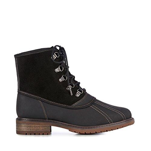 EMU Australia Utah Womens Deluxe Wool Waterproof Boots Charcoal