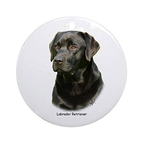 (CafePress Labrador Retriever 9A054D-23A Ornament (Round) Round Holiday Christmas Ornament)