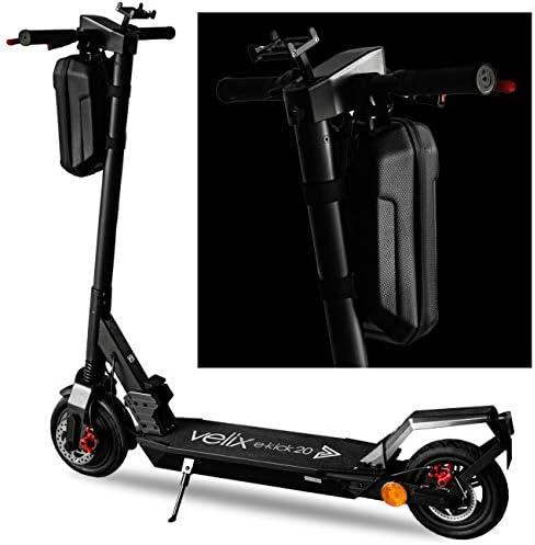 velix XXL Sac pour Guidon de eScooter - 3 L Sacoche pour Trottinette électrique - Sac à roulettes - Coque Rigide