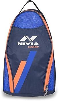 Nivia Dominator Shoe Bag  Navy Orange
