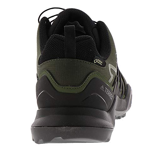 uk cheap sale vast selection in stock adidas outdoor Terrex Swift R2 GTX Mens Hiking Boot Night Cargo/Black/Base  Green, Size 8