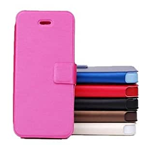 Fashionable Ultra-Thin Business Luxury Leather Case for iPhone 5/5S Phone cases ,Color: Red
