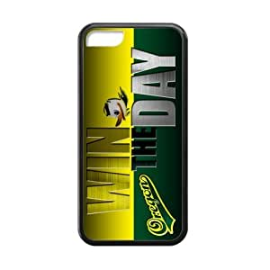 Generic Customize Unique Otterbox--NCAA Oregon Ducks Team Logo Plastic and TPU Black and White Case Cover for iPhone6 plus (5.5)