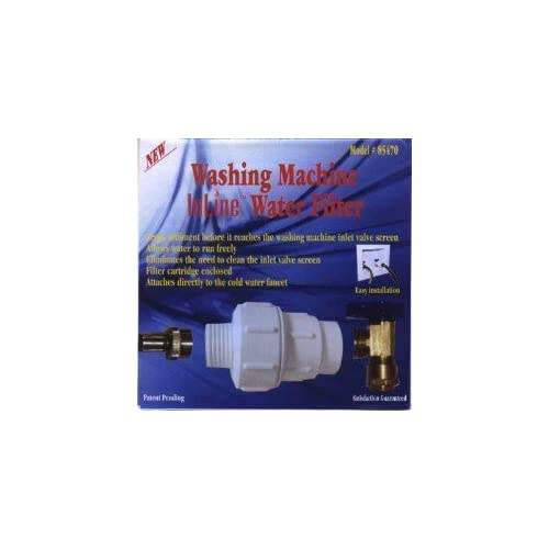 Washing Machine Inline Water Filter 85470