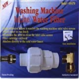 (Package Of 2) Washing Machine Inline Water Filter 85470