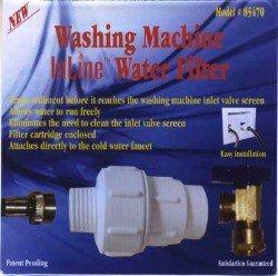 (Package Of 2) Washing Machine Inline Water Filter 85470