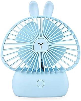 Mini ventilador de refrigeración de 3 velocidades USB de dibujos ...