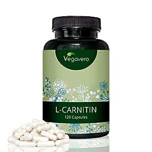 L-Carnitina PURA al 99% | DOSIS MÁS ALTA EN CÁPSULAS
