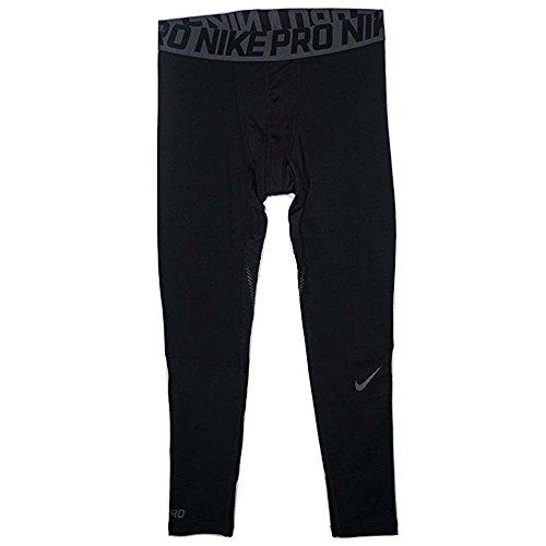 Nike Pro Hyperwarm Men`s Compression Runnung Tights Black...