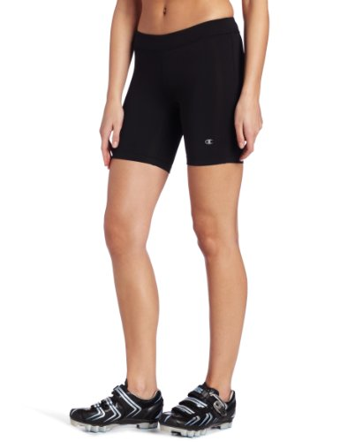 Champion Women's Absolute Bike Short, Black, Medium