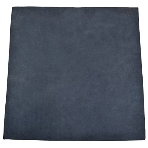 Leather Square (12x12) for Crafts/Tooling / Hobby Workshop, Medium Weight (1.8mm) by Hide & Drink :: Blue Suede