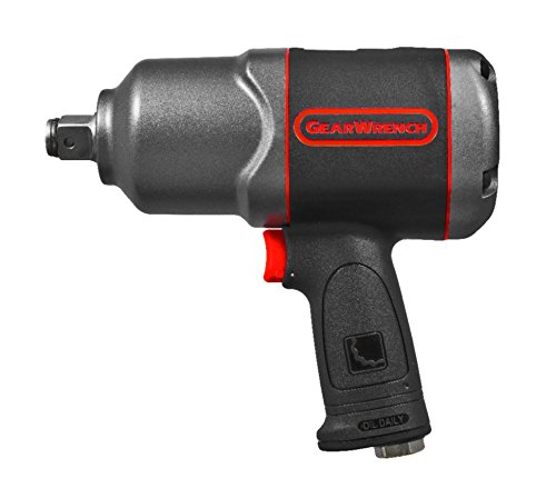 GEARWRENCH 88070 3/4'' Drive Air Impact Wrench, Black