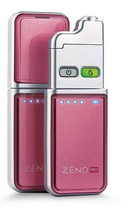 Zeno Pro Acne Clearing Device with 90 Count Cartridge, Pink