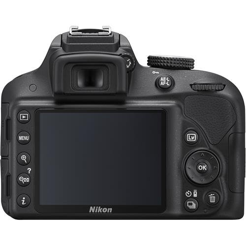 Nikon D3300 24.2 MP CMOS Digital SLR with Auto Focus-S DX NIKKOR 18-55mm f/3.5-5.6G VR II Zoom Lens (Black)