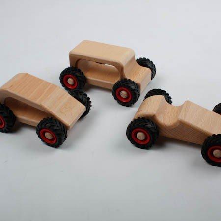 - Fagus Speedy Wooden Race Car - Made in Germany