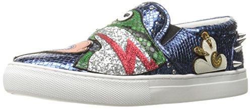 Marc Jacobs Femme Mercer Frog Skate Fashion Sneaker Bleu / Multi