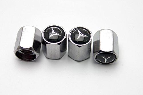 4x-chrome-metal-tyre-tire-valve-stem-caps-fit-mercedes-benz-all-models-949