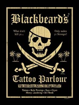 Blackbeards-Tattoo-Metal-Sign-Pirate-Decor-Wall-Accent