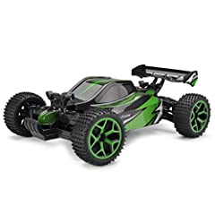 Features:  full proportional 4WD RC buggy:run lots of difficult movement Easily.  The stable structure:protect itself from abrasion and crash.  durable and anti-skid tires:work great on any terrain, grass landscape, sand and concrete ground e...