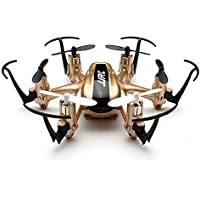 Annong JJRC H20 Nano Hexacopter 2.4G 4CH 6Axis Gyro RC Quadcopter Drone Headless Mode RTF One key Return RC Explorers Golden