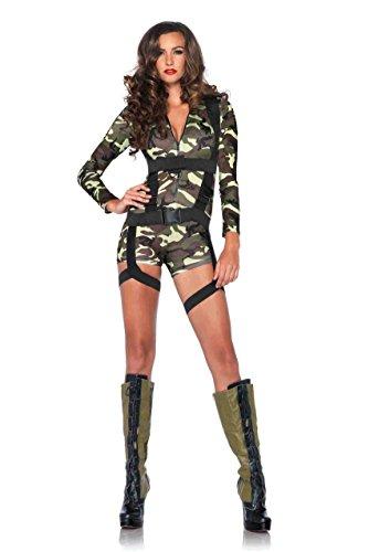 Leg Avenue Women's 2 Piece Goin' Commando,
