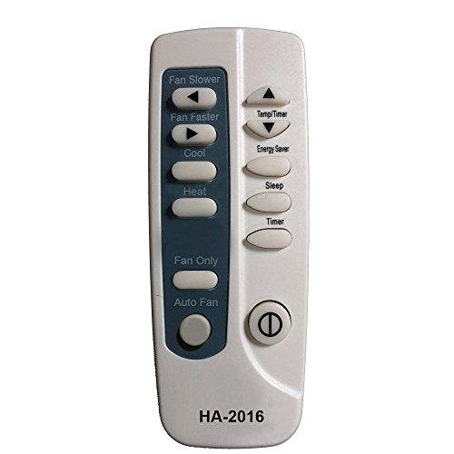 HA-2016 Replaces Frigidaire Air Conditioner Remote Control 5304447875 5304447885 5304447782 5304436595 Works for FAC124P1A6 FAC125P1A FAC125P1A1 FAC125P1A2 FAC125P1A3 FAC124N1A2 FAC105P1A6 by Generic (Image #2)