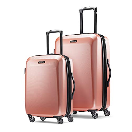 2 Piece Spinner Set - American Tourister 2-Piece Set, Rose Gold