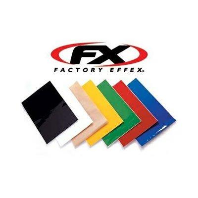 [해외]공장 Effex 유니버설 플레이트 Backrounds - 12x18 블루 (02-0244)/Factory Effex Universal Plate Backrounds - 12x18 Blue (02-0244)