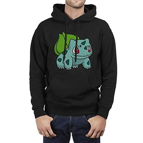 Man Pokemon-Pikachu-Character-Bulbasaur- Fleece Wool Warm Hoodie Sweatshirt Pullover Hoodie Sweater