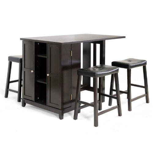 Baxton Studio 5 Piece Aurora Cabinet