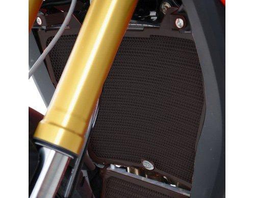 R&G Radiator Guard for BMW S1000XR '15-'16 | Black -  R&G Racing, RG.RAD0195BK
