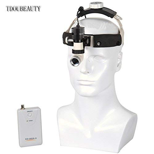 New Well Designed and Widely Popular Brand KD-203AY-3 AC/DC Headlight Used for Surgery Room, Stomatology by TDOUBEAUTY