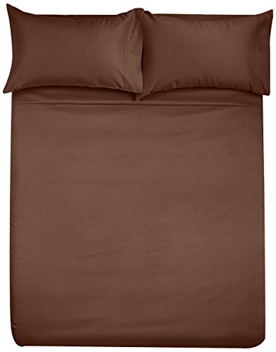 AmazonBasics Microfiber bed sheet Set bed sheet Pillowcase Sets