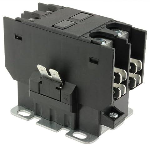 40 Amp 2 Pole 24V Contactor Control 42-42139-13 Rheem Ruud Protech by Rheem (Rheem Contactor)