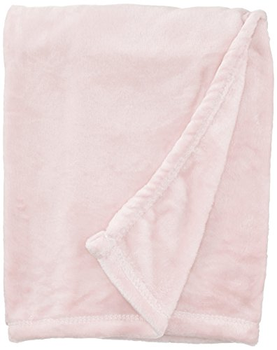 - NorthEast Fleece Cloud Mink Touch Baby Blanket, Pastel Pink