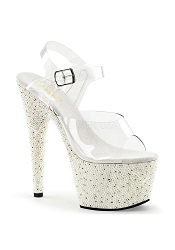 708 Clr Size 39 Pleaser PEARLIZE EU UK 6 Wht 4qAxw5gp