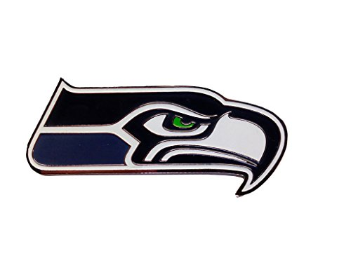 Seattle Seahawks NFL Team Logo Pin - Great Gift - For Hats, Jackets or Backpacks ()